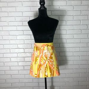 J. Crew Women's Limoncello Cotton Blend Skirt